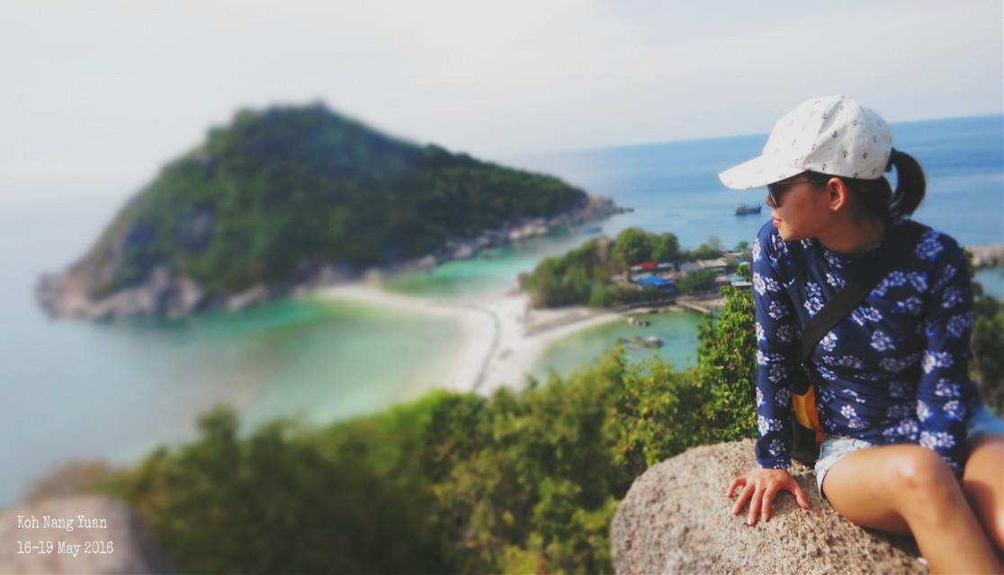 #beach #nature #people #photography #summer #travel #sea #Koh  Nang Yuan, Thailand#🏝🌊🌴👙