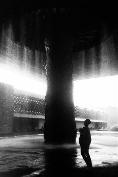 film blackandwhite fountain museum