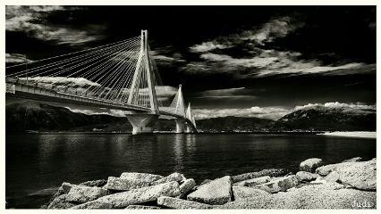 blackandwhite photography architecture bridge peleponnese