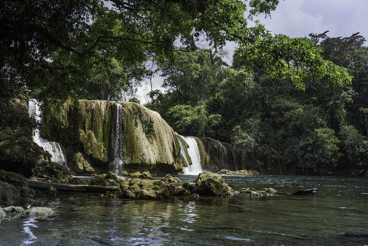 guatemala lasconchas nature waterfalls travel