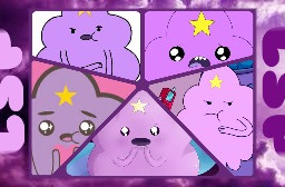 adventuretime lumpyspaceprincess lsp edit purple