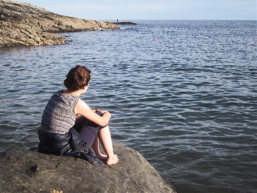 #wppshowmethesea #art #interesting #sea #water #stone #rest #human #wpphike
