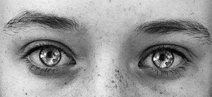 eyes galaxy blue beautiful interesting freetoedit