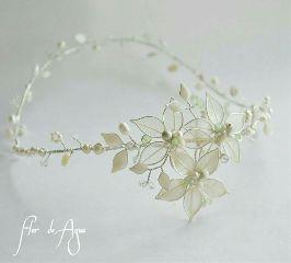 tiara headband corona novia boda
