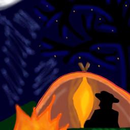 wdpcamp interesting freetoedit camping night
