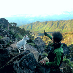 nature people travel summer indonesian