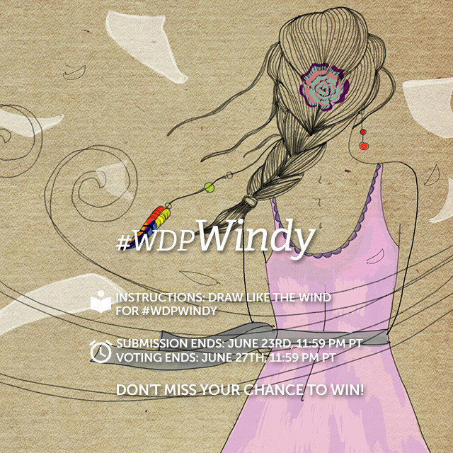 Draw like the wind and use PicsArt to create gusty paintings from your smartphone or tablet. Draw scenes of windy weather and enter them into our Weekly Drawing Project by tagging them with the hashtag #wdpWindy.