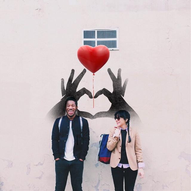 #FreeToEdit #love #streetphotography #couple