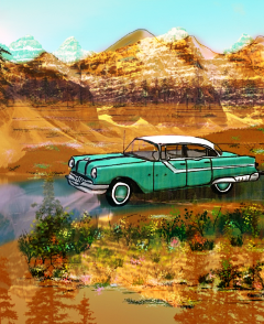 mountains vintage cars summer quotesandsayings