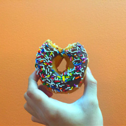 freetoedit donut doughnut minimalism art