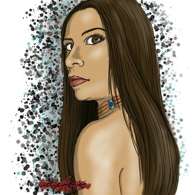 #people #digitalart #portrait #drawing #artist #art #painting #infinitepainter #woman #illustration #colorsplash