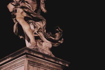 aliveatnight sculptures bridge angels detail
