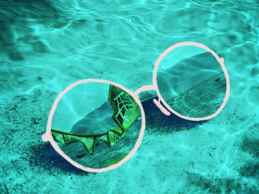 #wappinmyshades #glases #colorful #summer #freetoedit #beach  #sea