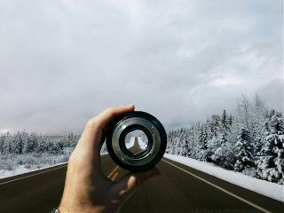 highway road snow madewithpicsart winter freetoedit
