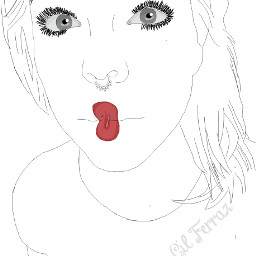 freetoedit outline outlinetumblr draw drawing