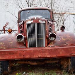 truck oldtruck ghosttown abandoned vintage
