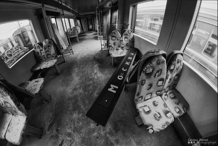 Abandoned train #2  #moscow #russia #bw #photography #FreeToEdit