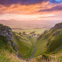 picsart landscape landscapephotography sunrise valley