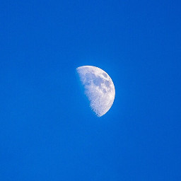 freetoedit moon daytimemoon space sky