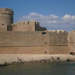 castle photography summer italy sea