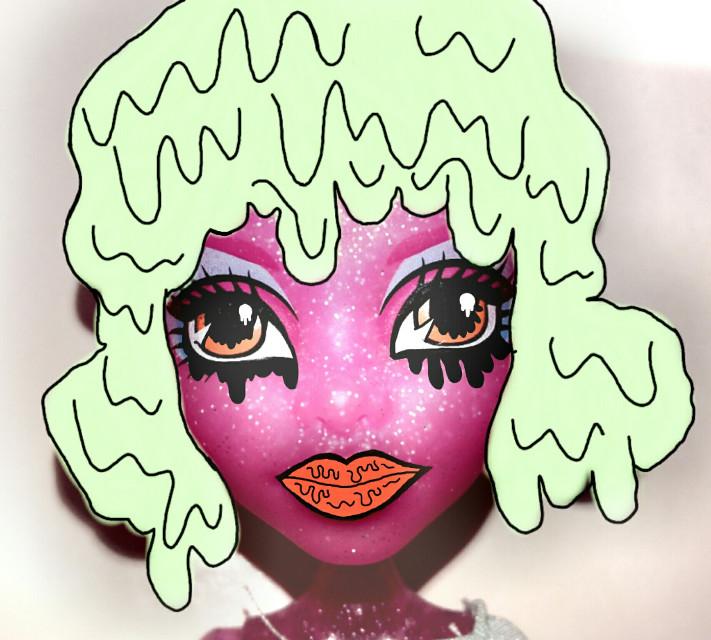 #wdpgrimeart #monsterhigh  #grimmer  #doll